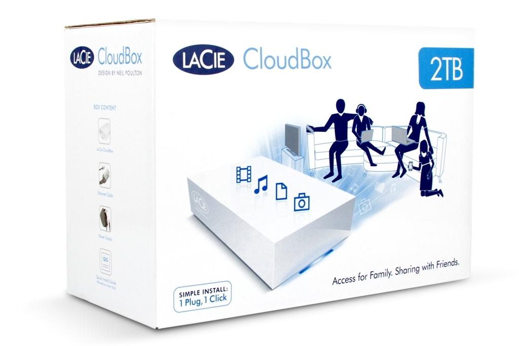 LaCie Cloudbox PKG 1