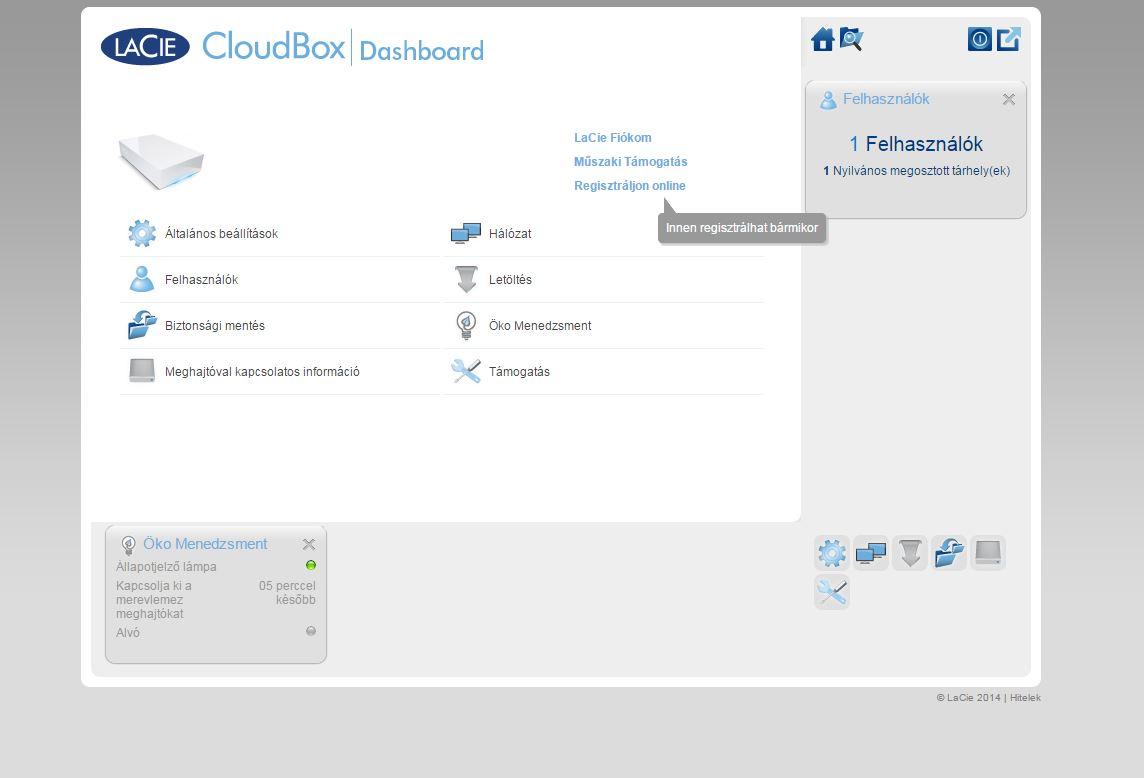 Lacie Cloud Box 1