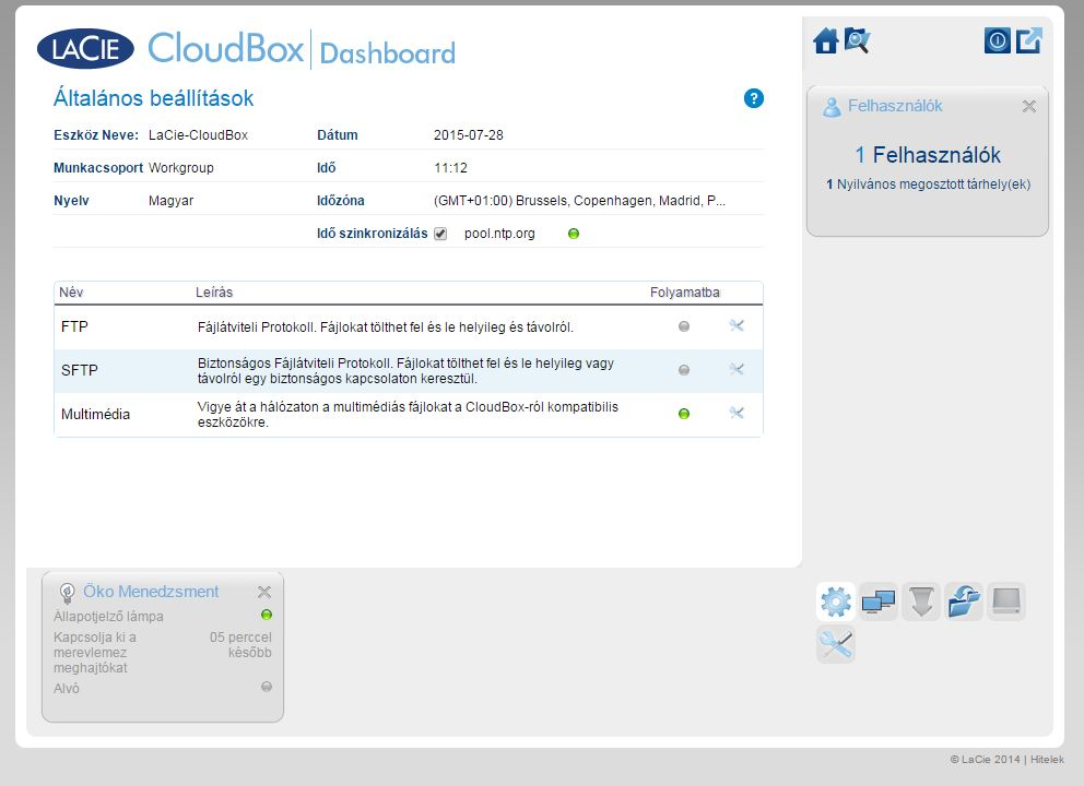 Lacie Cloud Box 2