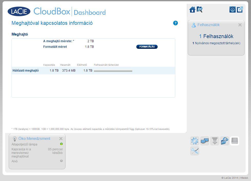 Lacie Cloud Box 4