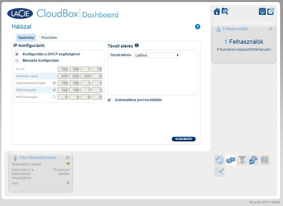 Lacie Cloud Box 5