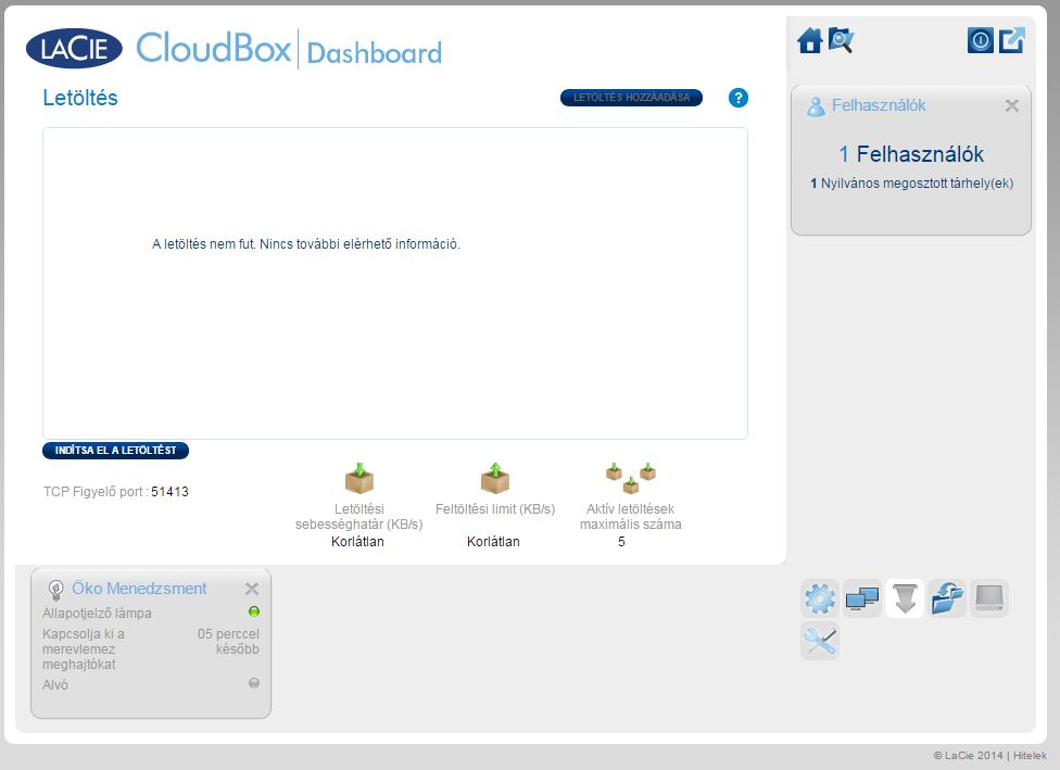 Lacie Cloud Box 6