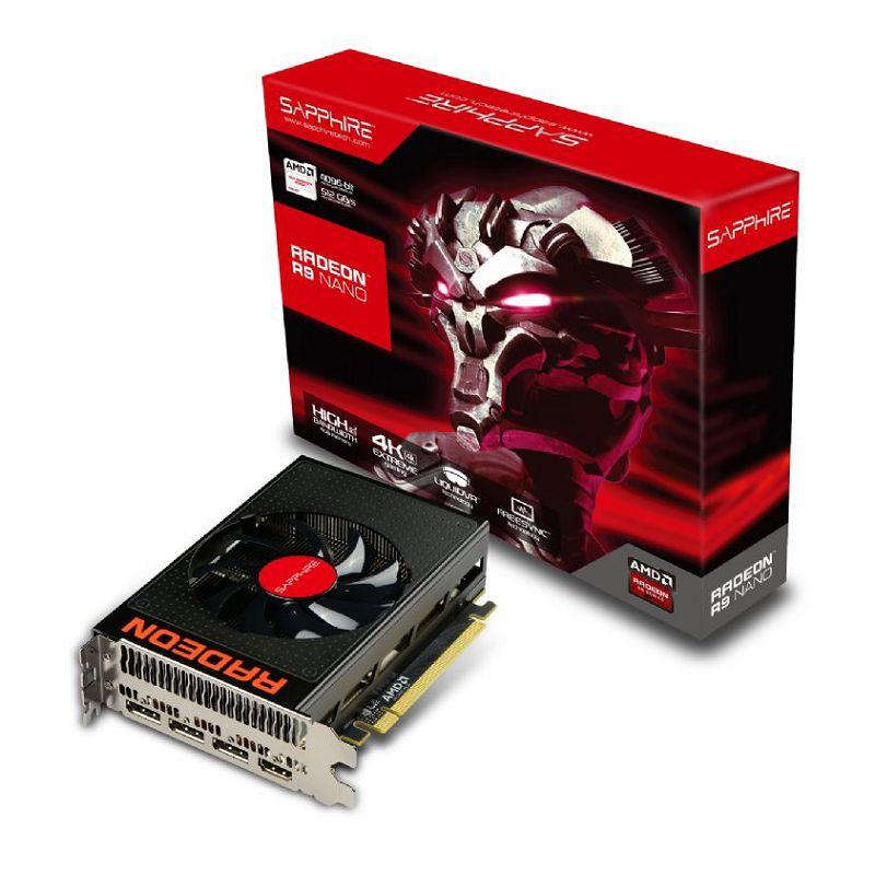 Sapphire Radeon R9 Nano Card Box 1