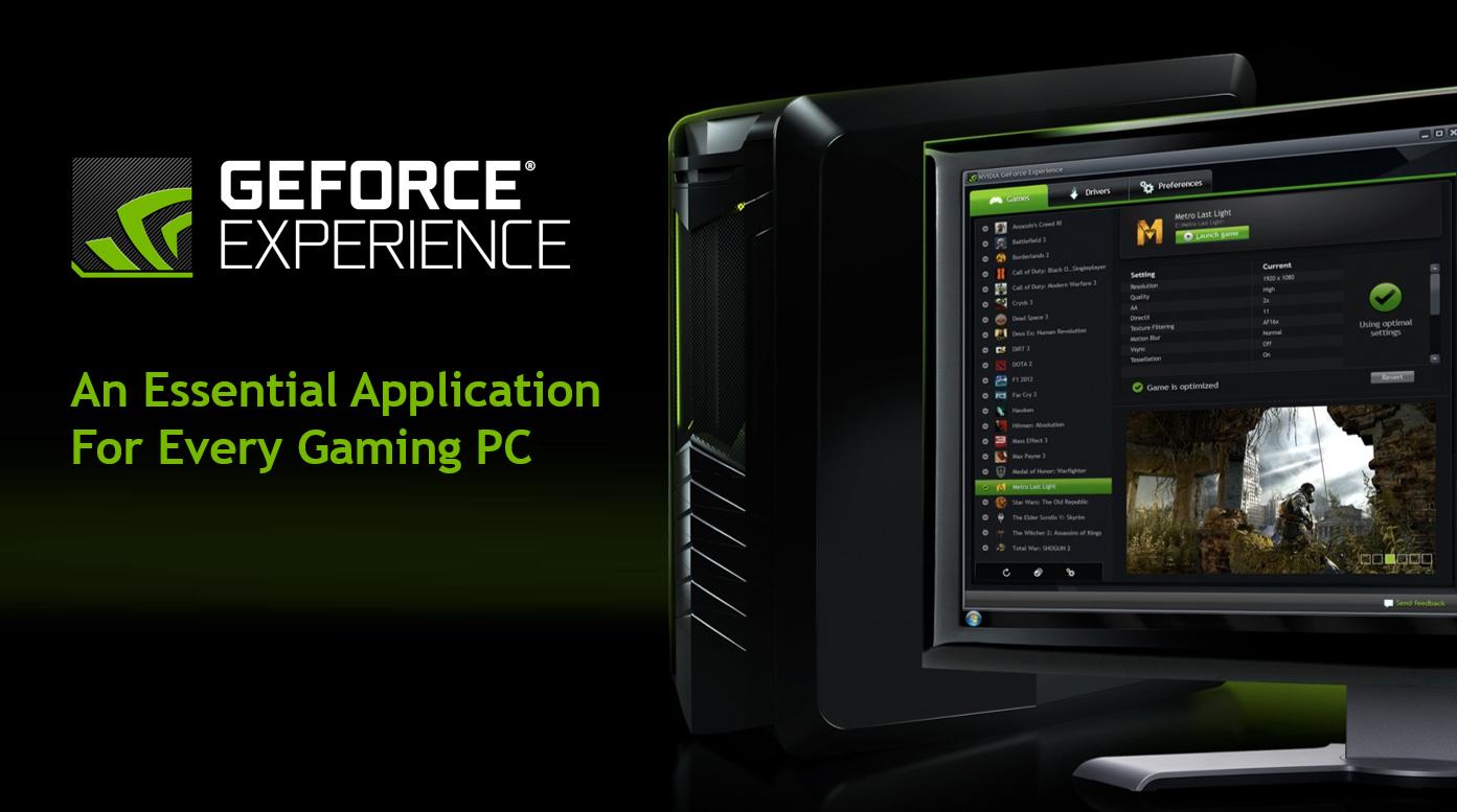 geforce experience header