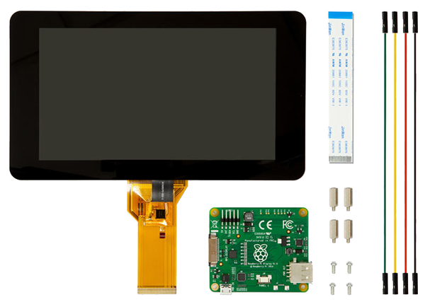 Raspberry PI display