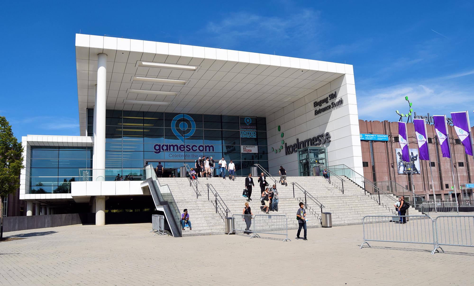 Gamescom entrance